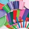 Plain Coloured Partyware