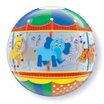 Zoo Animals Carousel Bubble Balloon
