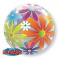 Fanciful Flowers Bubble Balloon