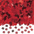 Red 40th Anniversary Confetti