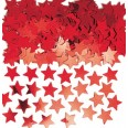 Large Red Star Confetti