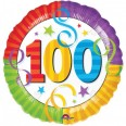 100th Birthday Perfection Foil Balloon
