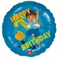 Diego Happy Birthday Foil Balloon