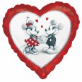 Disney Mickey & Minnie Love Holographic Foil Balloon