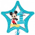 Mickey Mouse 1st Birthday Foil Balloon