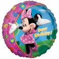 Minnie Mouse Happy Birthday Foil Balloon