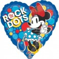 Minnie Mouse Rock The Dots Foil Balloon
