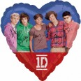 One Direction Group Foil Balloon