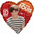 One Direction Louis Tomlinson Foil Balloon