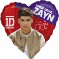 One Direction Zayn Malik Foil Balloon