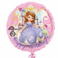 Sofia The First Happy Birthday Foil Balloon