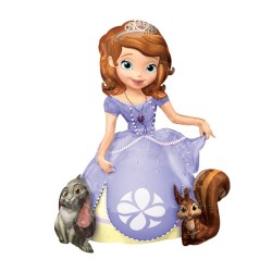 Sofia The First Airwalker Foil Balloon