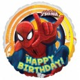 Ultimate Spiderman Happy Birthday Foil Balloon