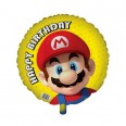 Mario Happy Birthday Foil Balloon