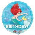 Ariel Birthday Dream Big Foil Balloon