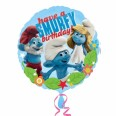 The Smurfs Happy Birthday Foil Balloon
