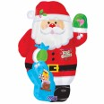 Santa Junior Shape Foil Balloon