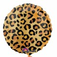 Cheetah Print Foil Balloon