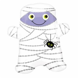 Smiley Mummy Junior Shape Foil Balloon