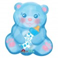 Baby Boy Bear With Bottle Junior Shape