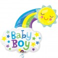 Baby Boy Bright Happy Sun Supershape