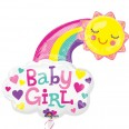 Baby Girl Bright Happy Sun Supershape