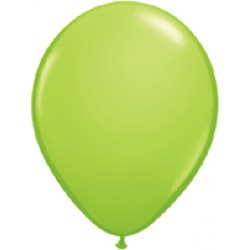 Lime Green Latex Balloons