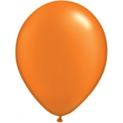 Mandarin Orange Latex Balloons