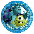 Monsters University Plates