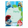 The Smurfs Invitations