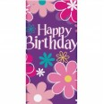 Birthday Blossom Table Cover