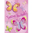 Butterflies & Dragonflies Invitations