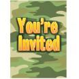 Camo Invitations