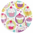 Cupcake Party Plates
