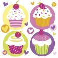 Cupcake Party Napkins