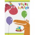 Dino Party Invitations