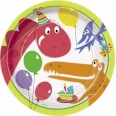 Dino Party Plates