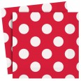 Ruby Red Luncheon Napkins