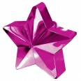 Magenta Star Balloon Weight