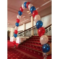 Red, White & Blue Single Arch