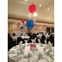 Red, White & Blue Table Decorations