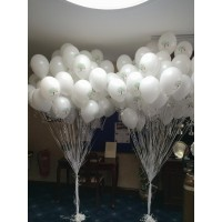 Giant Clusters of Printed Balloons